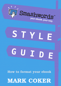 smashwords style guide how to format your ebook