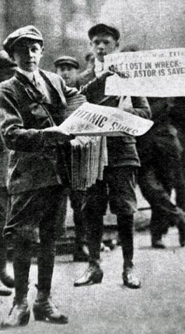 Titanic news boys