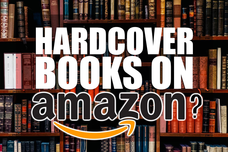 hardcover books on amazon?